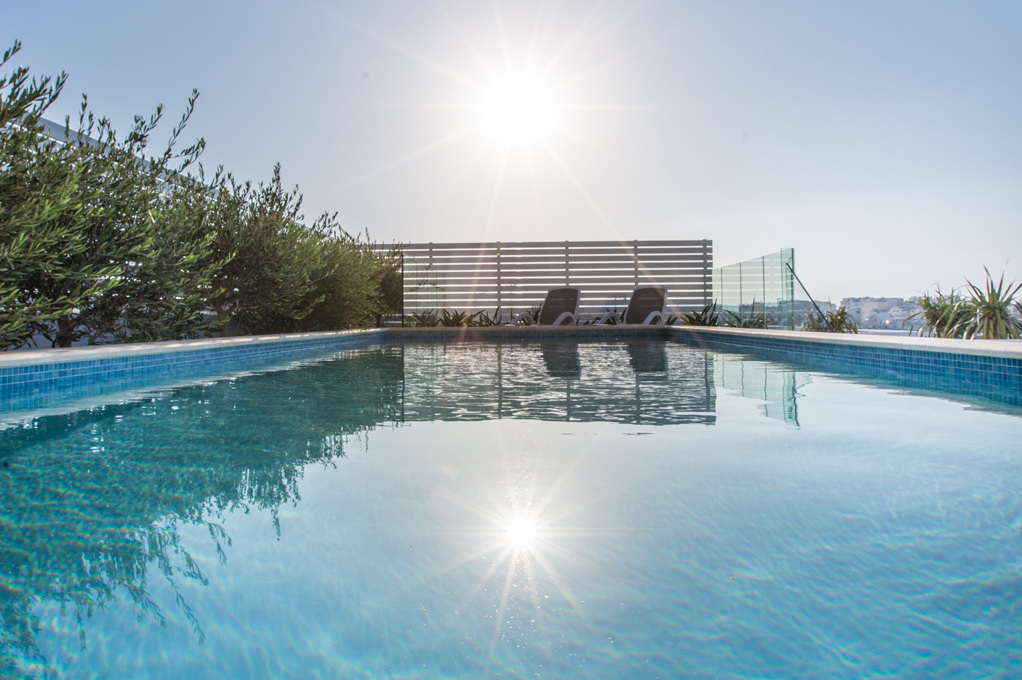Private pool - Penthouse Suite - Salini Resort