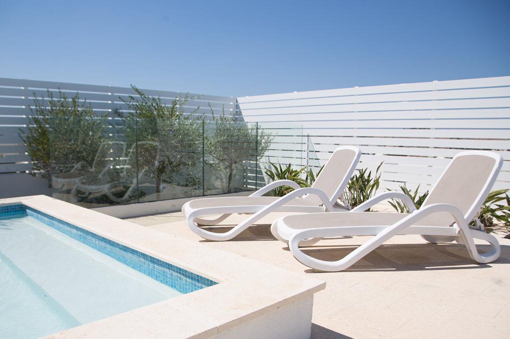 Private terrace - Penthouse Suite - Salini Resort
