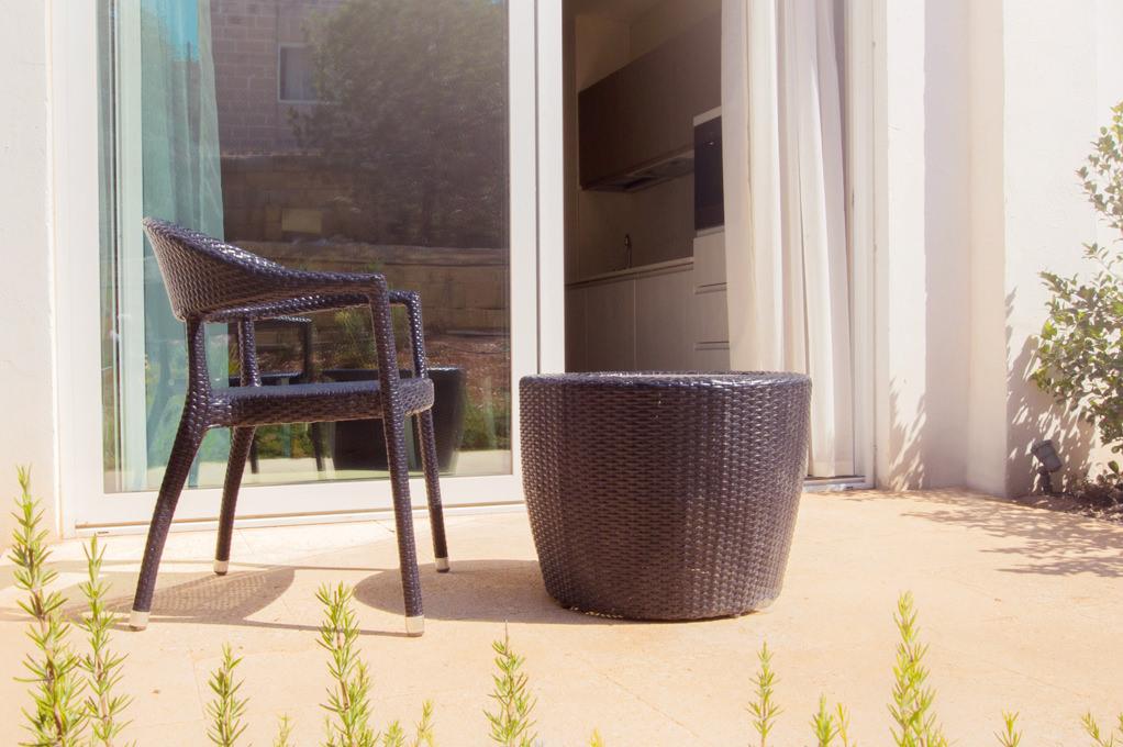 Terrace - Self Catering Room - Salini Resort