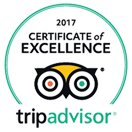 Certificate of Excellence 2017 - TripAdvisor